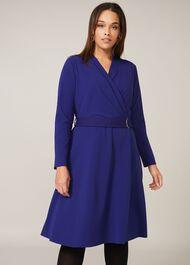 Susan Stretch Crepe Dress