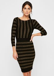 Marga Shimmer Knit Dress