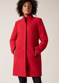 Bailie Boiled Wool Coat
