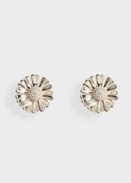 Sarah Flower Stud Earrings