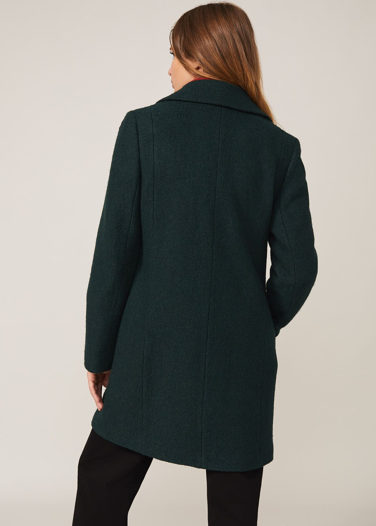 Lucine Double Breasted Wool Coat