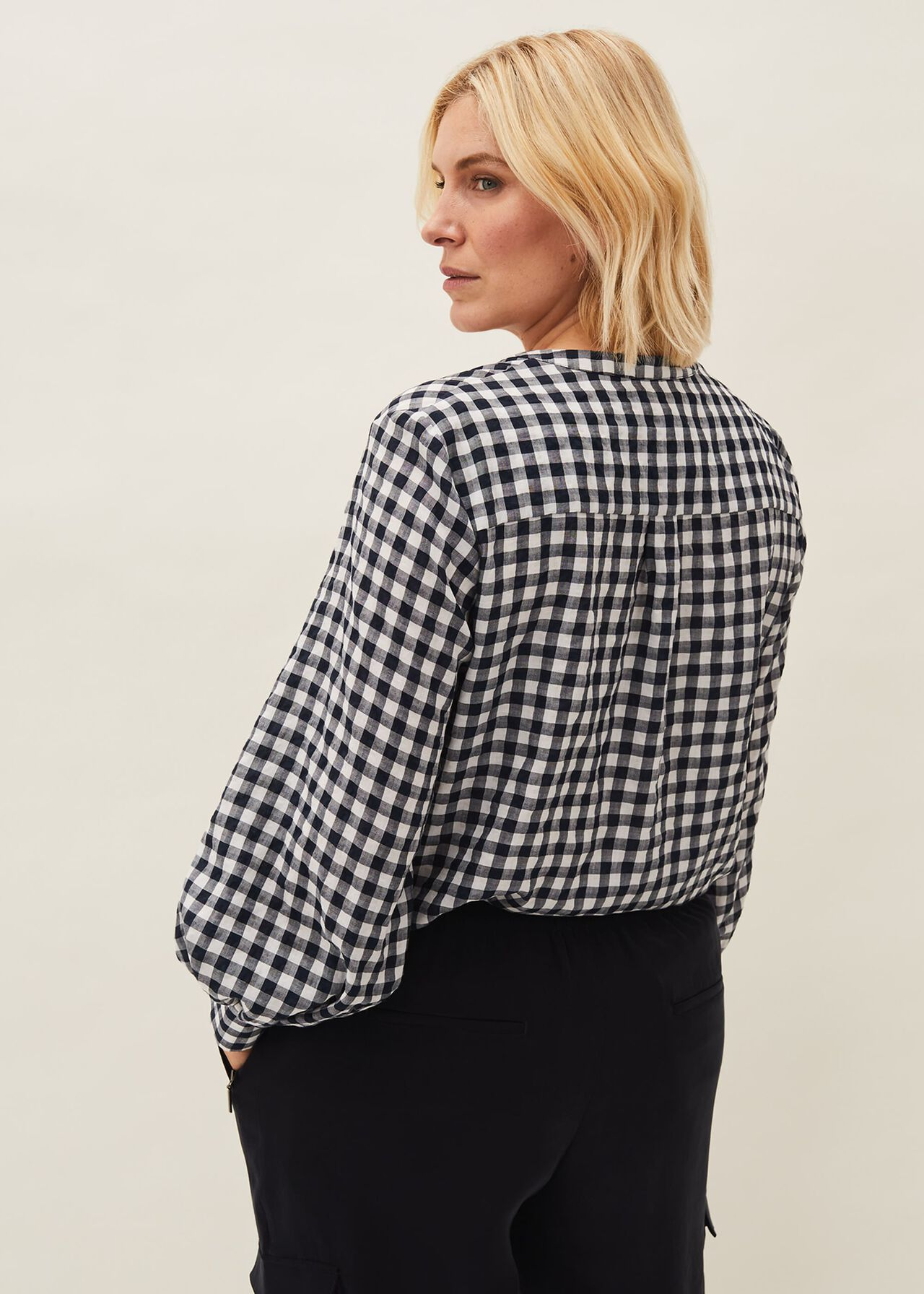 Lillia Gingham Shirt