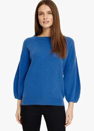 Bette Balloon Sleeve Knitted Jumper