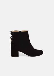 Valentine Lace Back Boots