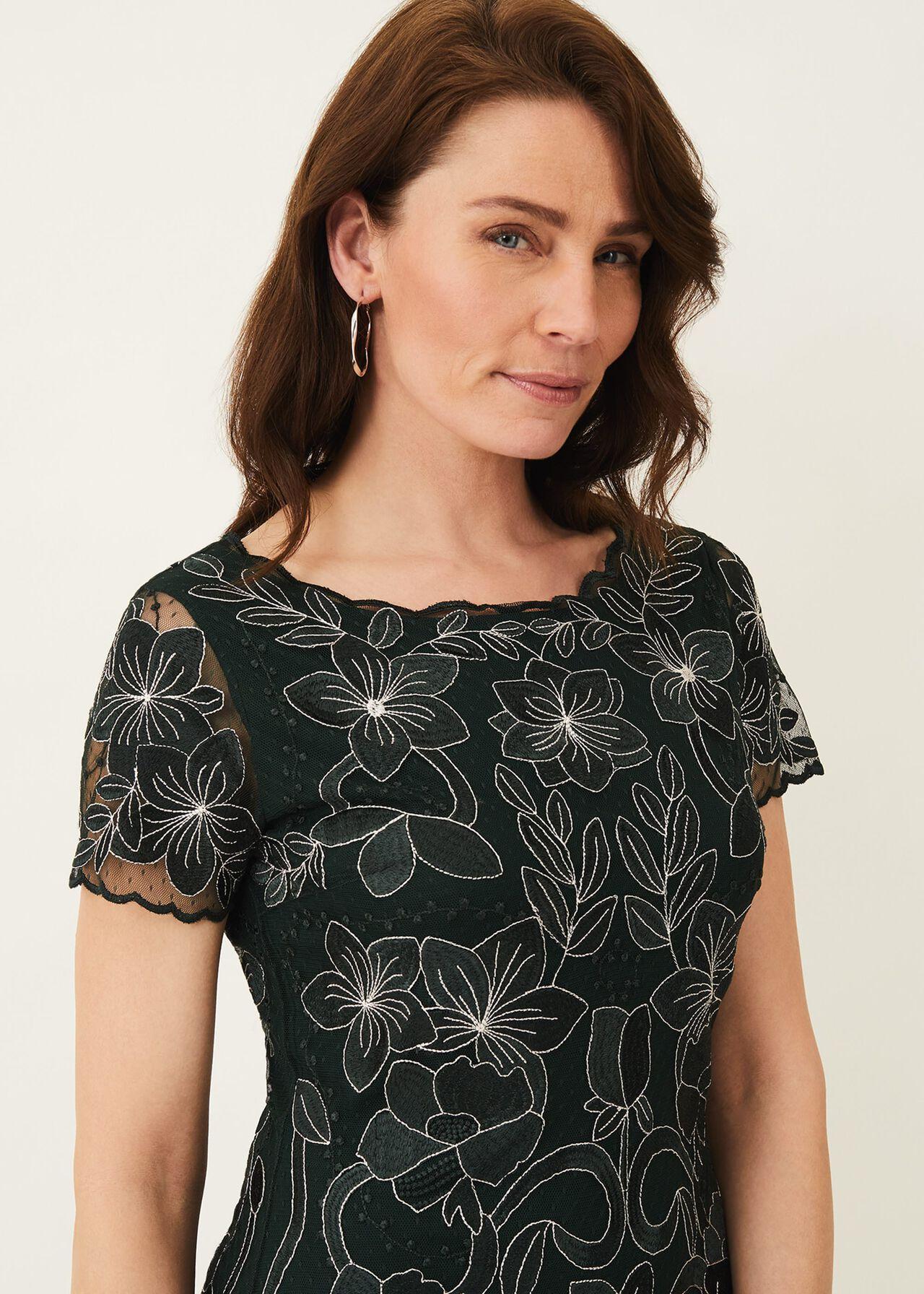 Nessa Embroidered Dress