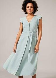 Tallie Linen Blend Dress