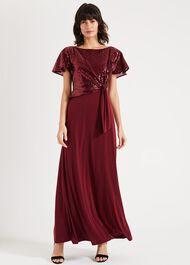 Rumi Knot Front Maxi Dress