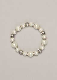 Parma Pearl And Crystal Bracelet