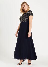 Flora Beaded Maxi Dress