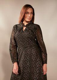 Bonnie Sparkle Jacquard Dress