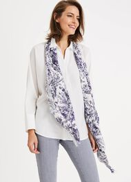 Gilly Sketch Print Scarf