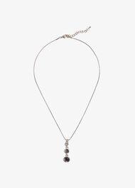 Peyton Swarovski Drop Necklace