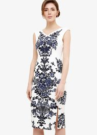 Whitney Placement Print Dress