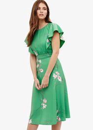 Beatrix Floral Printed Dress