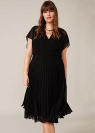 Jamie Pleated Midi Dress