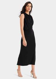 Adaryn Cowl Neck Maxi Dress