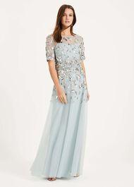 Christina Sequin Maxi Dress