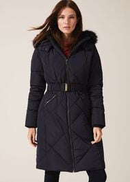 Lacey Long Fur Lined Puffer