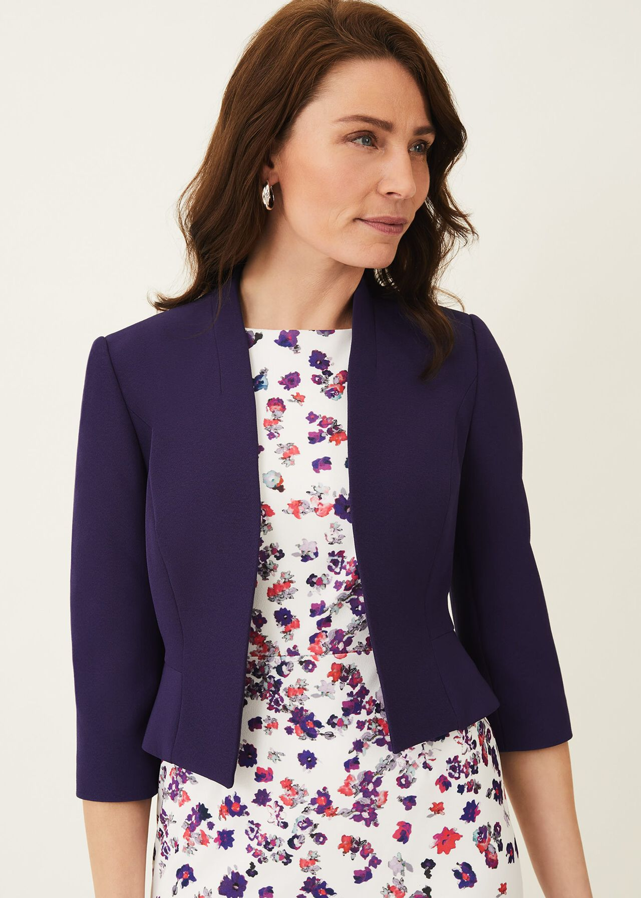 Rosalyn Fluted Sleeve Occasion Jacket