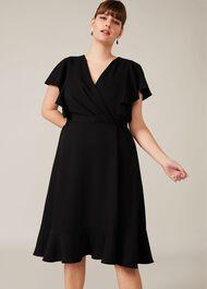Ruth Frill Sleeve Dress