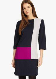 Cindy Colour Block Dress