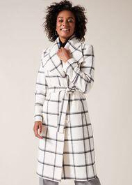 Nicci Check Coat