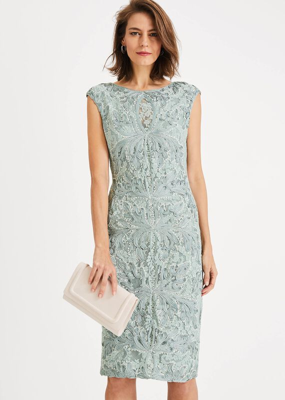 Paige Tapework Lace Dress