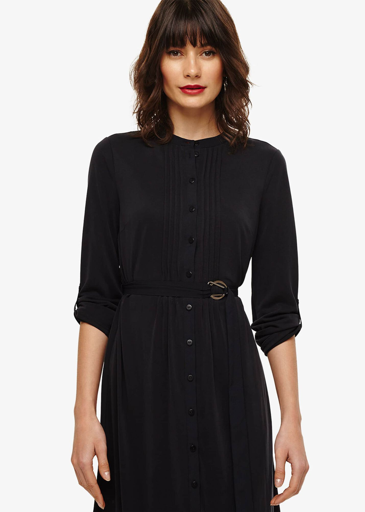 6f33db579106 Cadee Cupro Shirt Dress | Phase Eight | Phase Eight