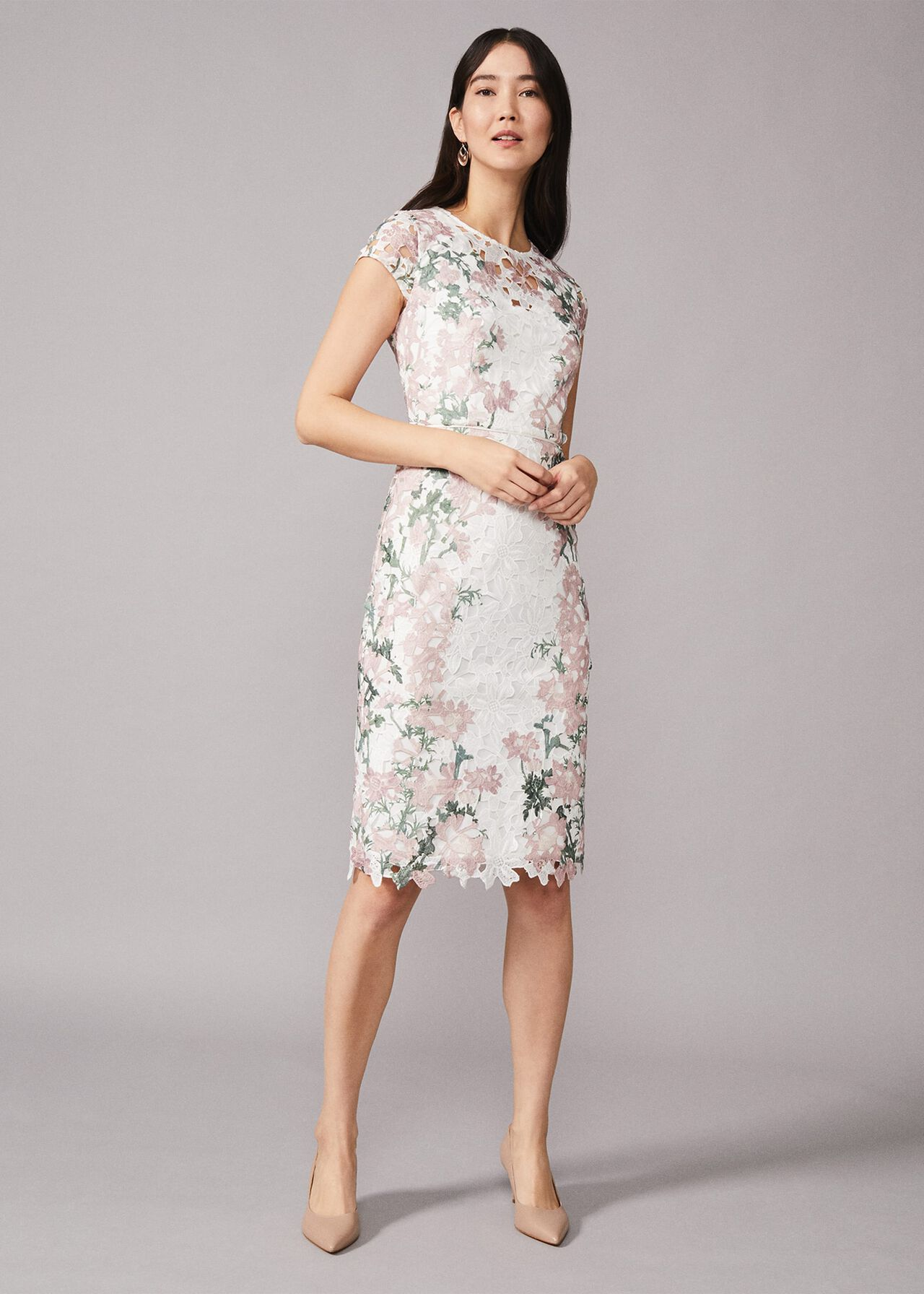 Kyra Lace Fitted Dress