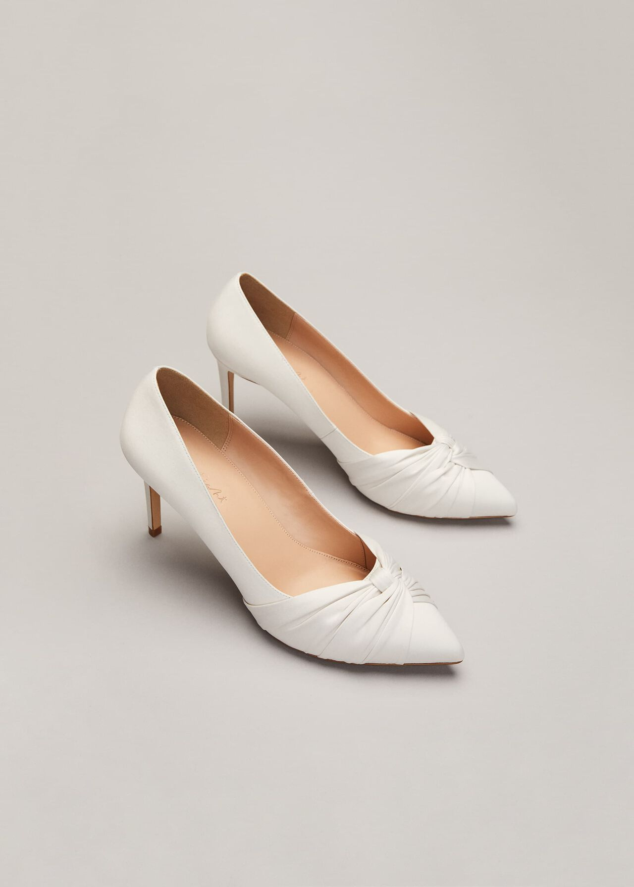 Kendal Satin Court Shoe