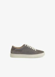Flora Suede Trainers