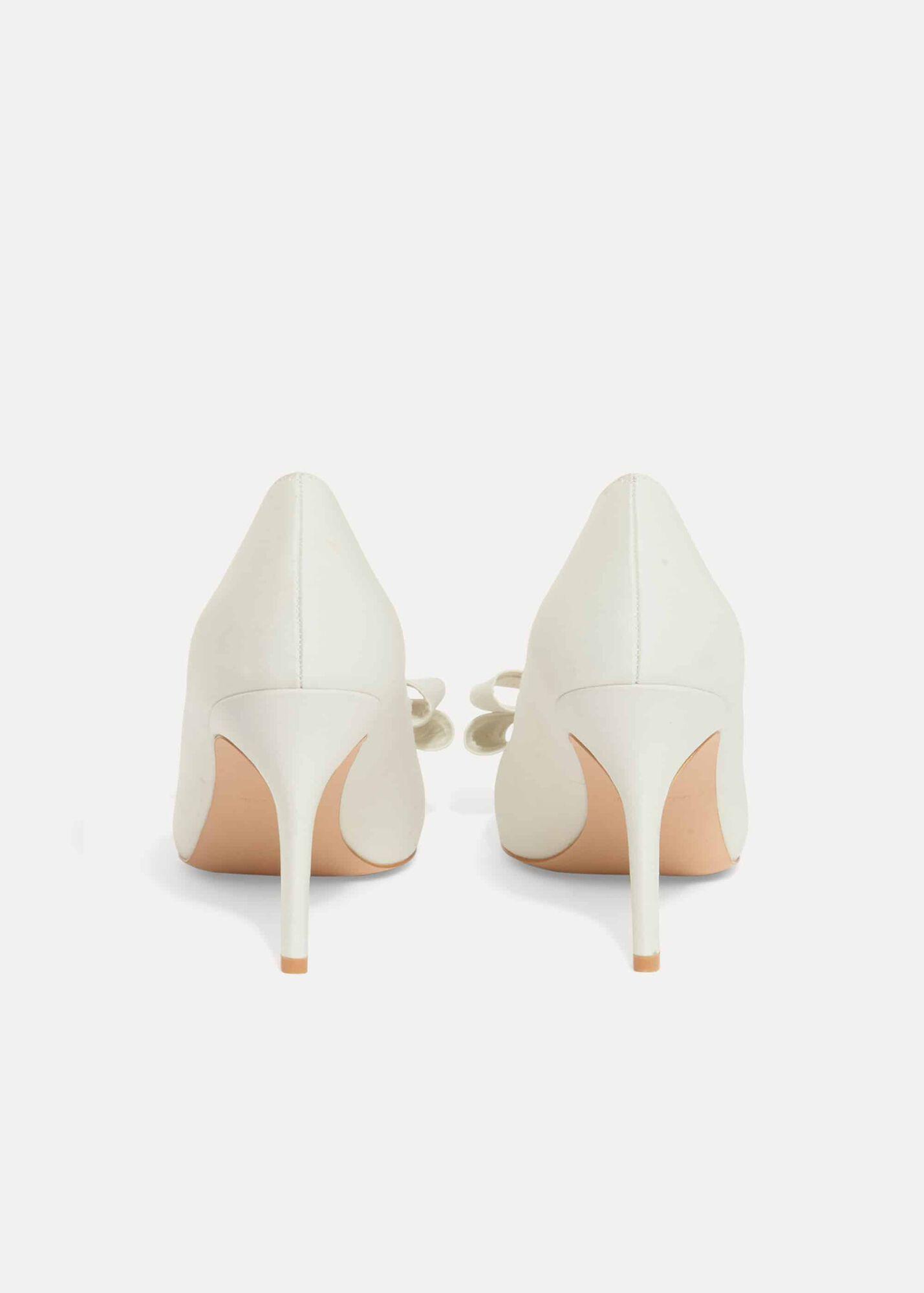 eb4405e7e1e Kara Satin Pointed Court Shoes | Phase Eight | Phase Eight