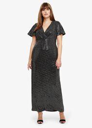 Galaxy Sparkle Maxi Dress