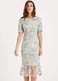 Alissa Embroidered Dress