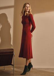Mel Midi Fit & Flare Dress