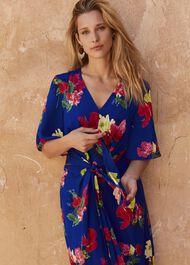 Darcy Printed Kimono Dress