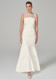 Shannon Layered Wedding Dress