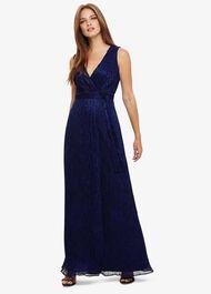 Noelle Wrap Maxi Dress