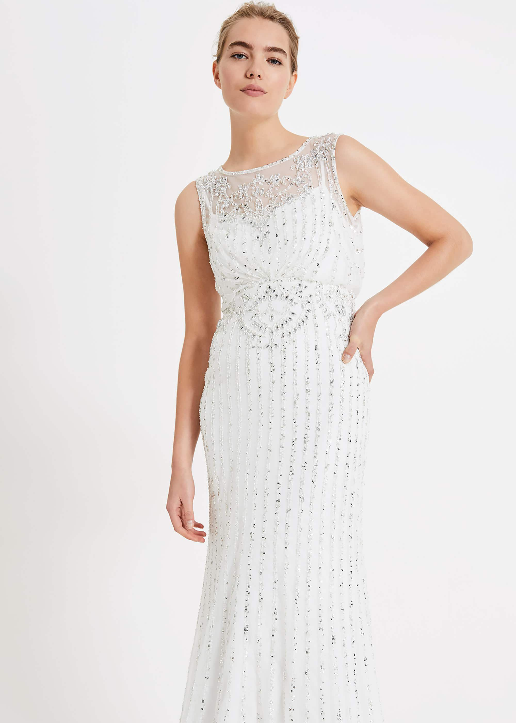 Milly Beaded Wedding Dress | Phase Eight