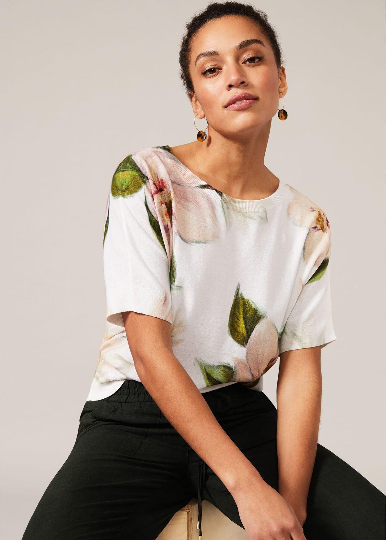 Alex Floral Knit Top