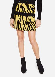 Lia Zebra Knit Skirt