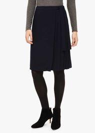 Marcella Pleat Side Skirt