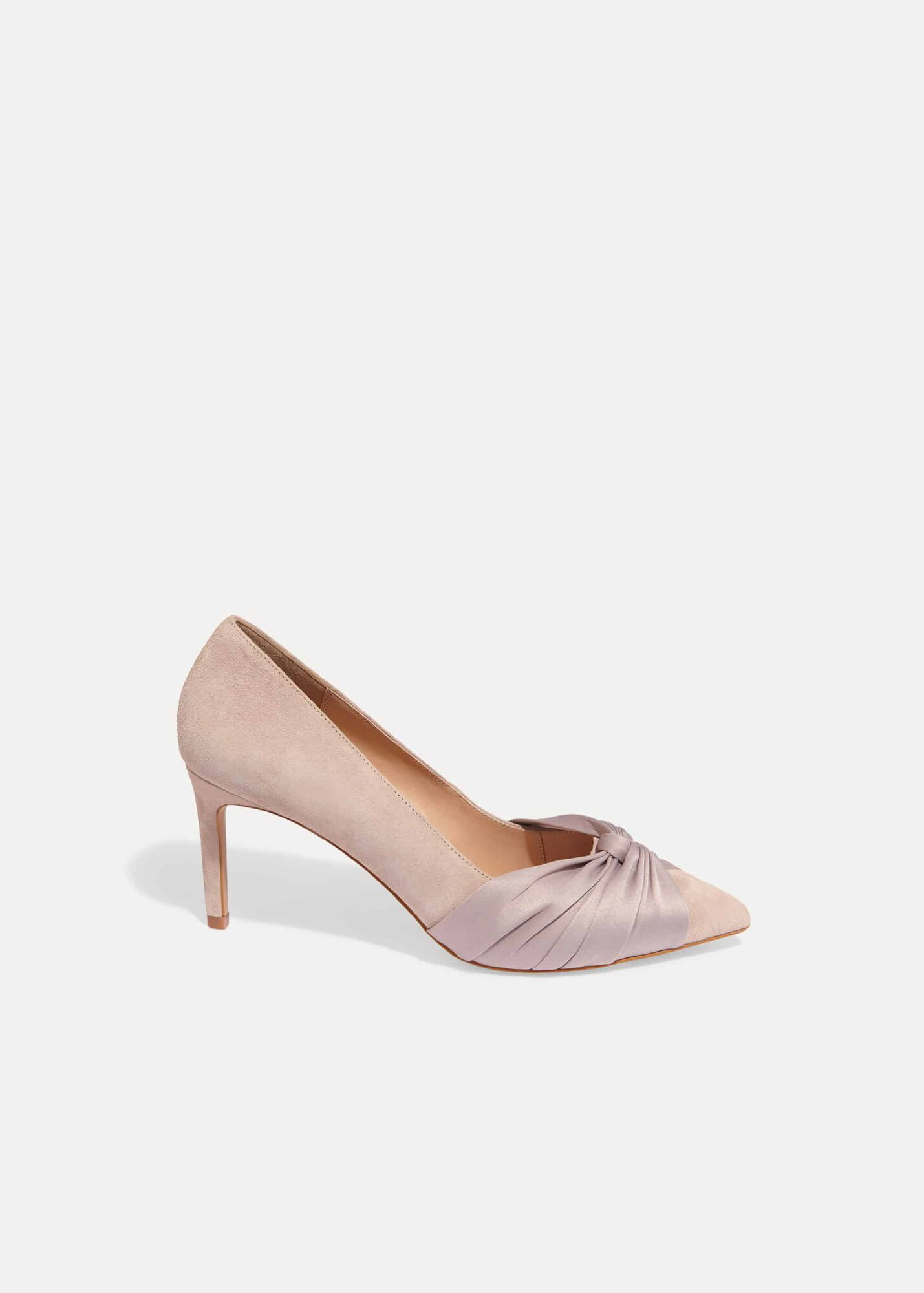 376c51aa535 Kendal Knot Pointed Court Shoes | Phase Eight | Phase Eight