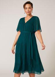 Audrey Tiered Midi Dress