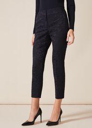 Tala Leaf Jacquard Trousers