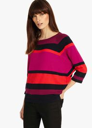 Sabra Stripe Knit Top
