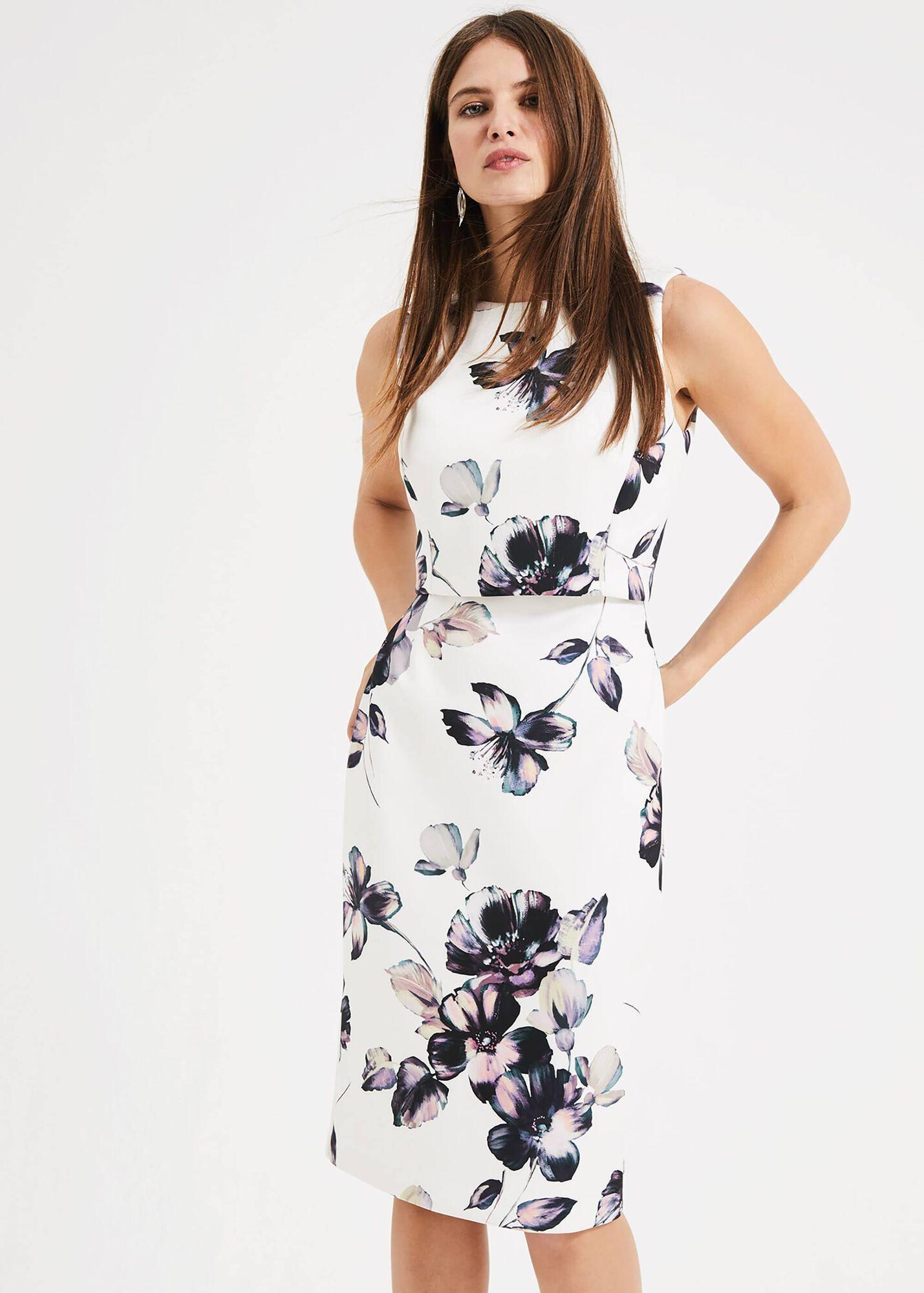 3e6858870259 Gracie Floral Scuba Dress   Phase Eight   Phase Eight