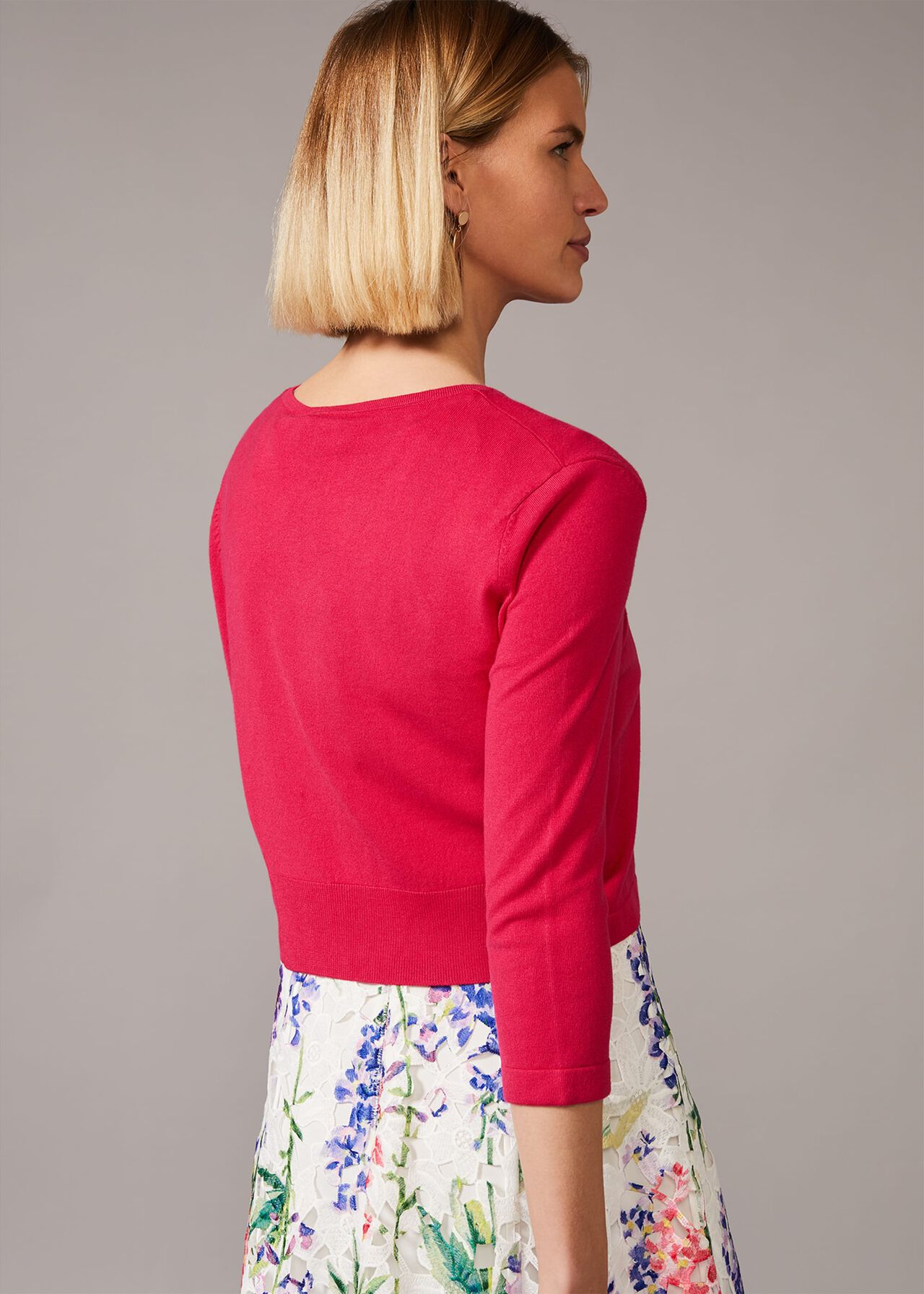 Catie Cropped Cardigan