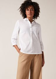 Beda Broidery Blouse