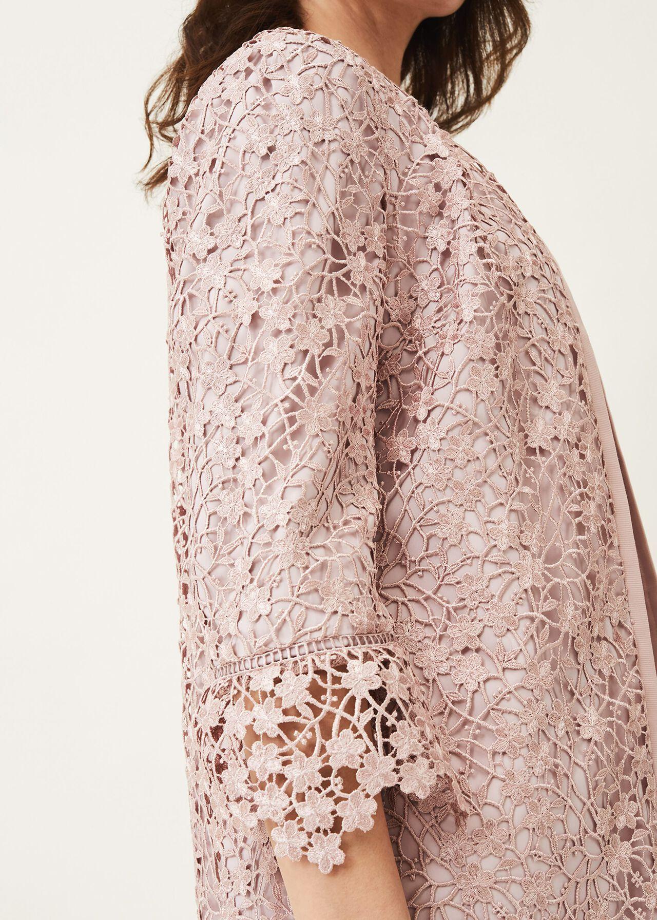 Mariposa Lace Occasion Coat